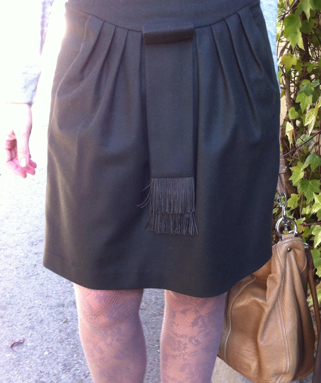 WorkingOutfit-con falda de Hoss Portada