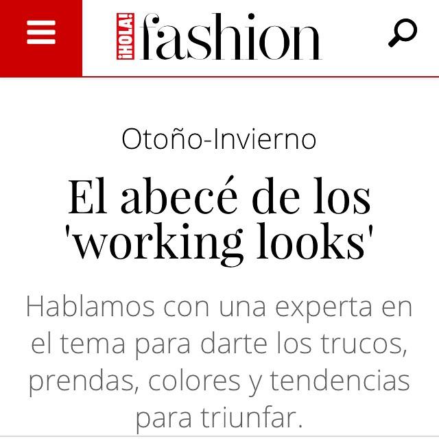 Hola Fashion: El abecé de los working looks
