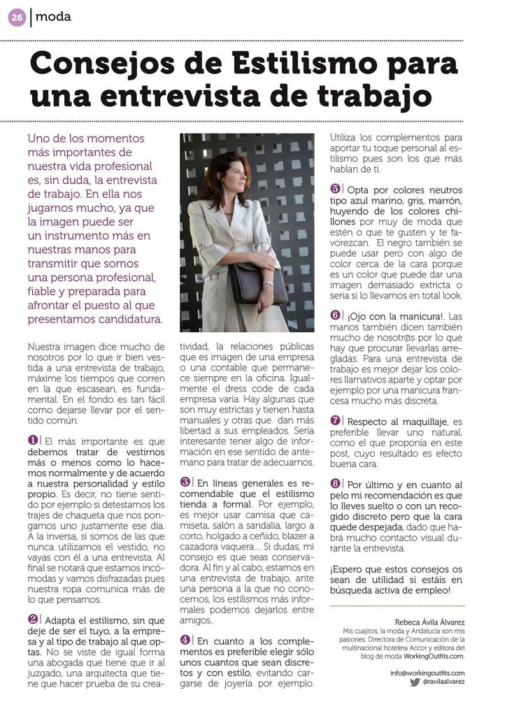 WO en Disfruta Sevilla Entrevista Trabajo