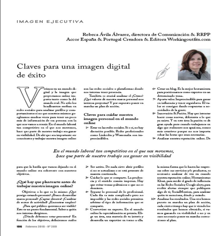 Ejecutivos/Claves para una imagen digital de éxito