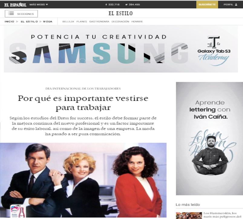 El Español/Guía de los dress code de empresas