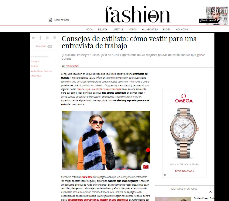 Hola Fashion/Consejos de Estilista: ¿Cómo vestir para una entrevista de trabajo?