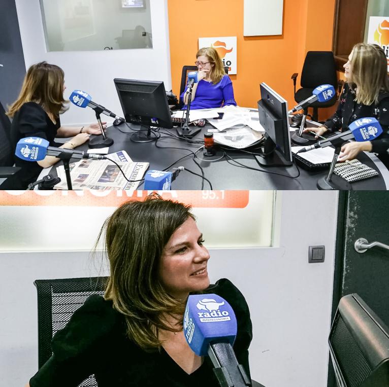Entrevista sobre imagen digital y marca personal en Capital /InterEconomía con Susana Criado