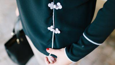 Chaqueta Kimono en el trabajo