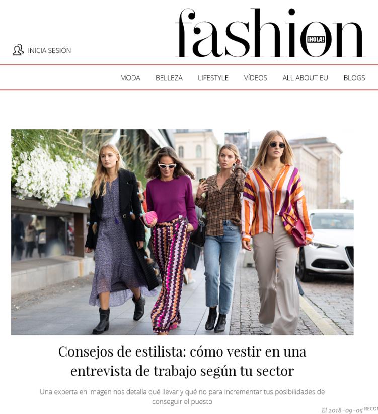Hola Fashion /Consejos de estilista para una entrevista de trabajo