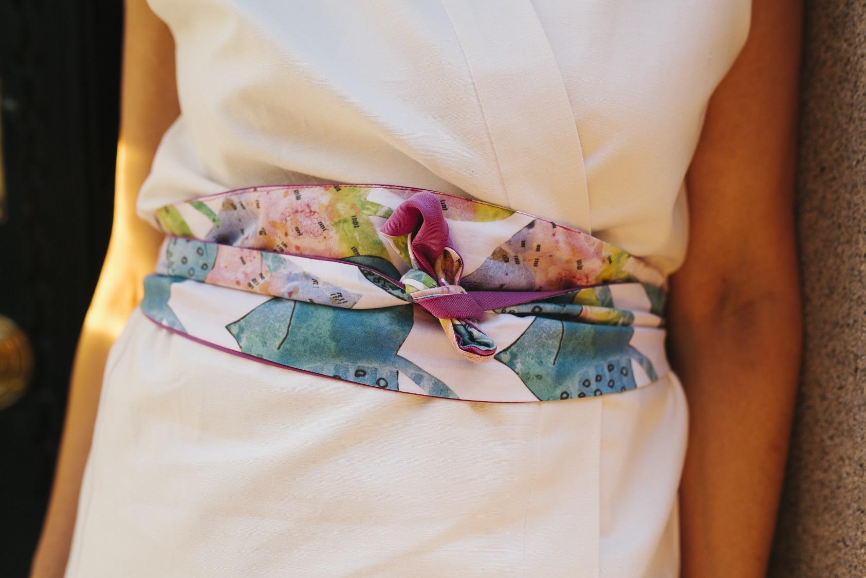 Kimono y fajín solidarios