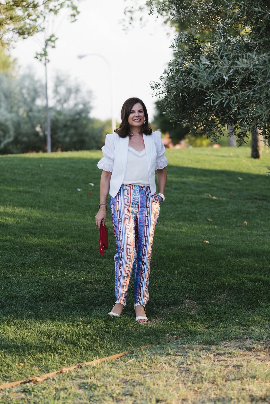 Unos pantalones vibrantes para la vuelta al trabajo